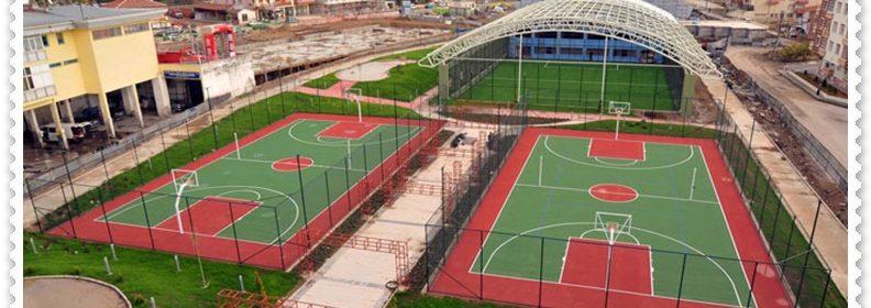 Aydın kentinde spor tesisleri