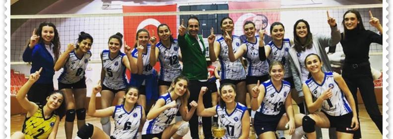 Aydın BŞB Kadın Voleybol Takımından Güzel Haber
